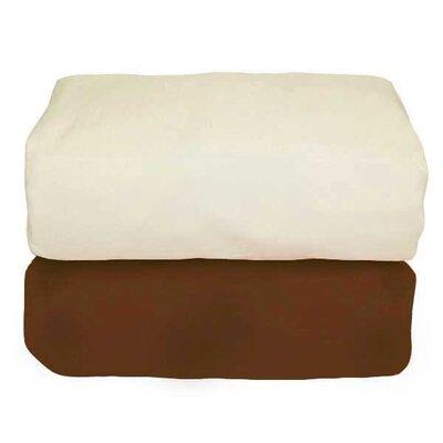 Tadpoles Arlington Organic Flannel Fitted Crib Sheet