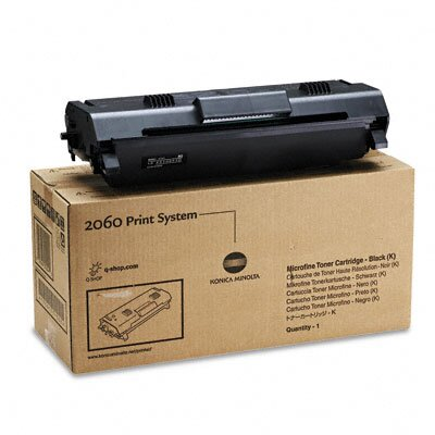 Konica Minolta 1710171001 (1710434-001, 4161-101) Toner Cartridge, Black