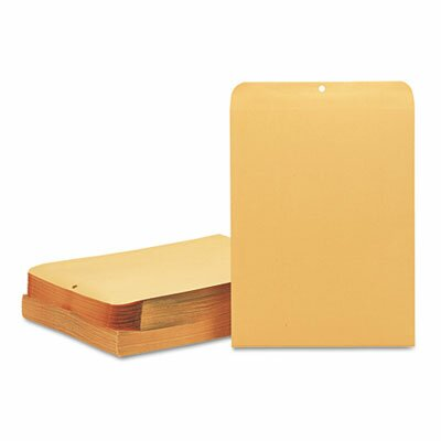 Quality Park Products Clasp Envelope, 12 X 15 1/2, 32Lb, 100/Box