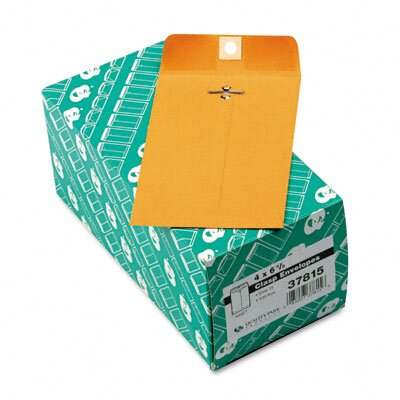 Quality Park Products Clasp Envelope, 4 X 6 3/8, 100/Box