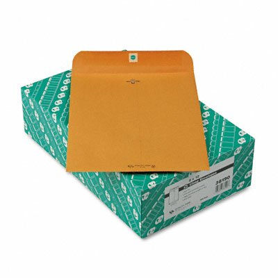 Quality Park Products Clasp Envelope, Recycled, 100/Box