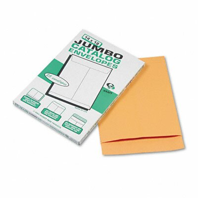 Quality Park Products Jumbo Size Kraft Envelope, 14 x 18, Light Brown, 25/box