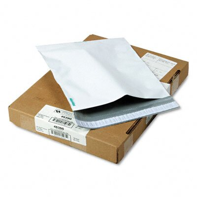 Quality Park Products Redi-Strip Poly Expansion Mailer, Side Seam, 11 x 13 x 2, White, 100/carton
