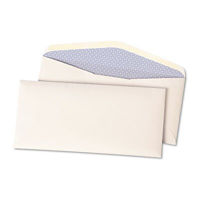 Quality Park Products Expandable Security Envelope, One-inch, Traditional, #10 1/2, White, 500/box