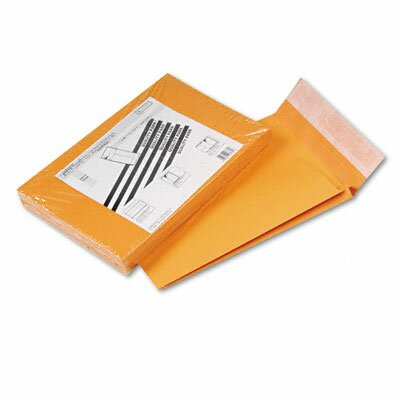 Quality Park Products Redi-Strip Kraft Expansion Envelope, Side Seam, 9 x 12 x 2, Brown, 25/pack