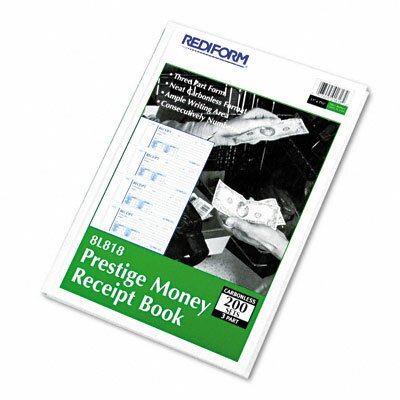 Rediform Office Products Money Receipt Book, 200 Sets/Book