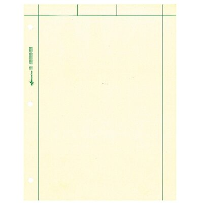 "Rediform Office Products Computation Pads, 5""x5"" Quad, Letter, 200 Sheets, Green"