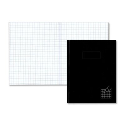Rediform Office Products Composition Books, 4x4 Quad, 192 Ct, 9-1/4&quot;x7-1/4&quot;, Black