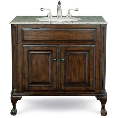 "Cole & Company Custom 37"" Classic Bath Vanity Set"