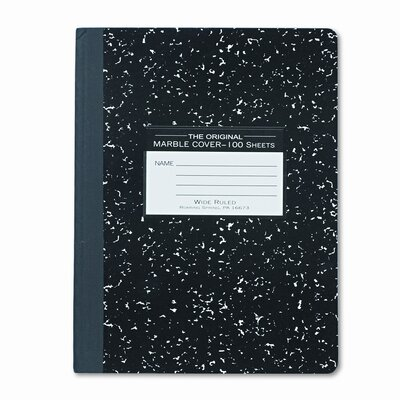 Roaring Spring Paper Products Marble Cover Composition Book, 9-3/4 X 7-1/2