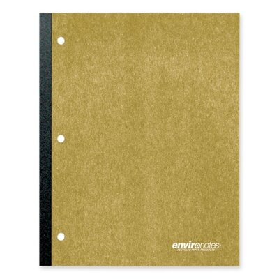 Roaring Spring Paper Products Notebook, Wireless, Perforated, College Ruled, 3-Hole Punch, 70 Sheets