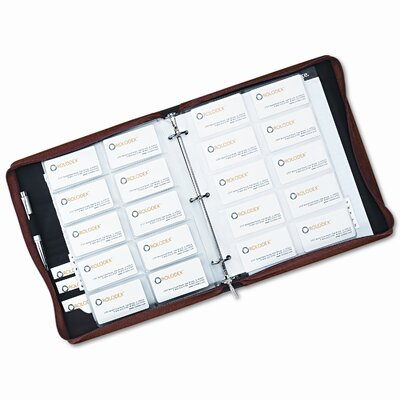 Rolodex Corporation Organizer Business Card Book