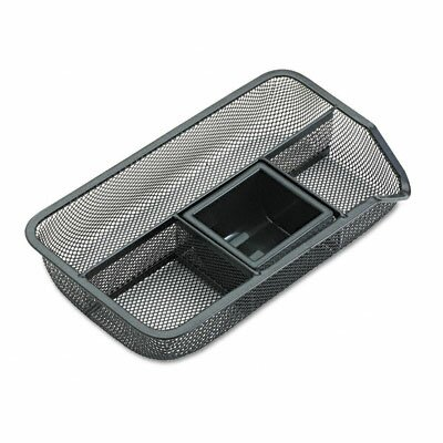 Rolodex Corporation Drawer Organizer, Metal Mesh, Black