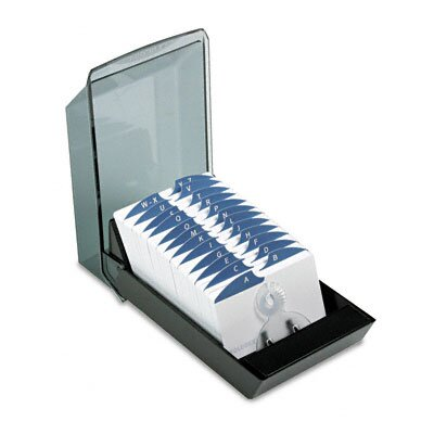 Rolodex Corporation Covered Tray Card File