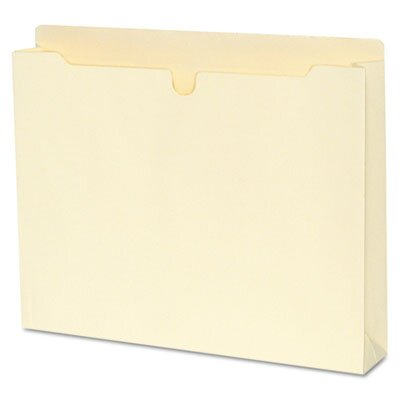 S&J PAPER Expanding File Jackets with Two Inch Expansion, 50/Box