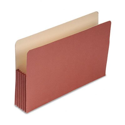 S&amp;J PAPER 5 1/4&quot; Expansion File Pockets, Straight Cut, MLA/Redrope, Legal, Redrope, 25/Box                                             