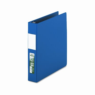Samsill Corporation Antimicrobial Locking D-Ring Binder, 8-1/2 x 11, 1-1/2in Cap