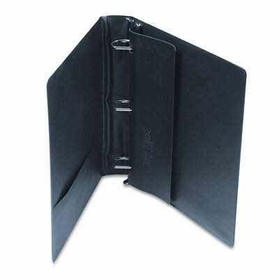 Samsill Corporation Top Performance DXL Angle-D Locking Rings Binder, 1-1/2in Capacity, Black