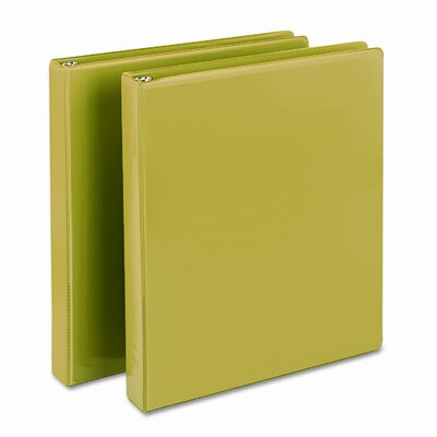 Samsill Corporation Presentation Binder, Round Ring, 11 X 8-1/2, 2/Pack
