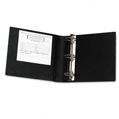 Samsill Corporation Heavy-Duty Locking Round Ring Binder, 8-1/2 x 11, 3in Capacity