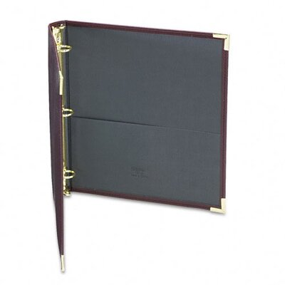 Samsill Corporation Classic Collection Ring Binder Portfolio, 8-1/2 x 11, 1in Capacity, Burgundy