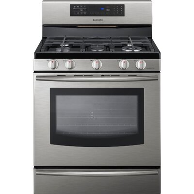 Samsung 5.8 Cu. Ft. Freestanding Gas Range with True Convection