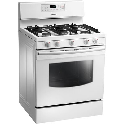 Samsung 5.8 cu. Ft. Gas Free-standing Range with Custom Griddle and Storage Drawer