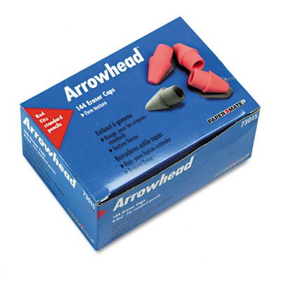 Sanford Ink Corporation Arrowhead Eraser Caps, 144 Per Box