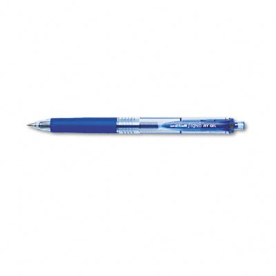 Sanford Ink Corporation Signo Gel RT Retractable Roller Ball Pen, Blue Barrel/Ink, Micro Fine, 0.38 mm