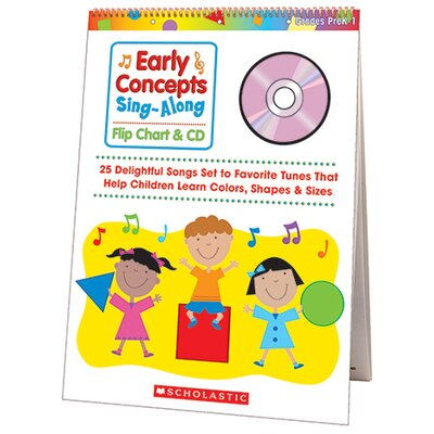 Scholastic Early Concepts Singalong Flip Chart