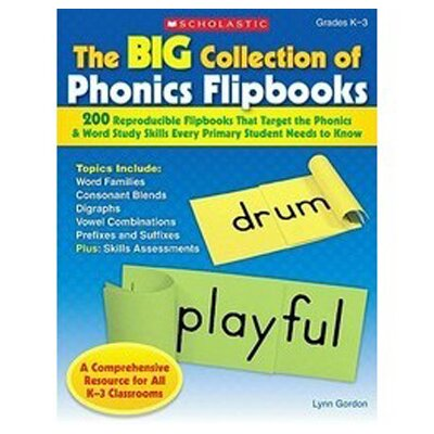 Scholastic The Big Collection Of Phonics