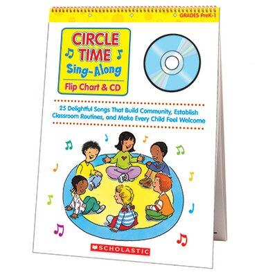 Scholastic Circle Time Sing Along Flip Chart &