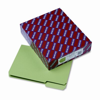 Smead Manufacturing Company Interior 1/3 Cut Top Tab File Folders, Letter, 100/Box