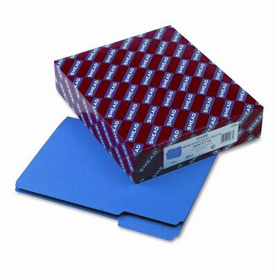 Smead Manufacturing Company Interior 1/3 Cut Top Tab File Folders, Letter, 100/Box
