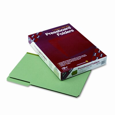Smead Manufacturing Company 1/3 Cut Top Tab Recycled Folders, One Inch Expansion, Legal, 25/Box