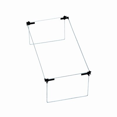 Smead Manufacturing Company Steel Hanging Folder Frame, Letter/Legal Size, 2/Box