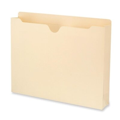"Smead Manufacturing Company File Jacket, Antimicrobial, 2""Expandable, Letter, 50 per Box, Manila"