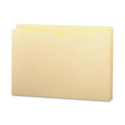 "Smead Manufacturing Company File Jackets with 2-Ply Top and 1.5"" Accordion Expansion, 50/Box"