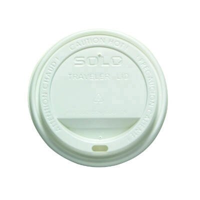 Drink-Thru Lids for 12- & 16-oz. Meridian Hot Drink Cups, 100/bag
