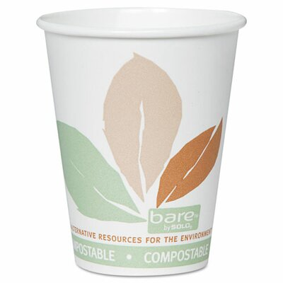 Solo Cup Company Bare Eco-Forward 8 oz. Hot Cup (Set of 500)
