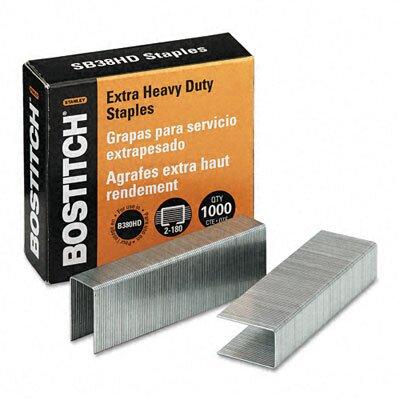Stanley Bostitch Heavy-Duty Staples for B380Hd-Blk Auto 180 Stapler, 1,000/Box