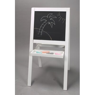 Gift Mark Double Sided Art Easel in White