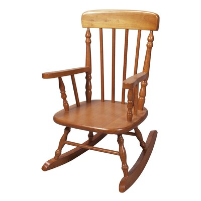 Gift Mark New Style Spindle Kids Rocking Chair