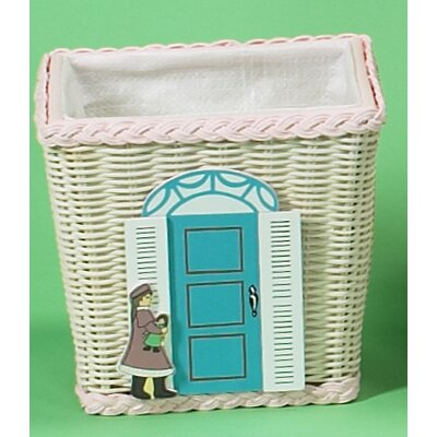 Gift Mark Basket with Doll Shop Motif