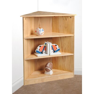 "Gift Mark 36"" Corner Bookcase"