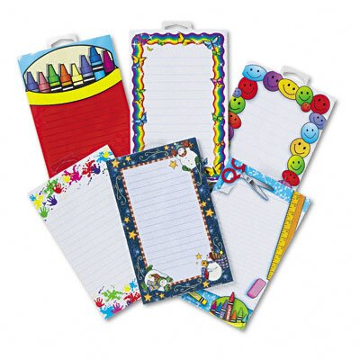 Teacher Created Resources Notepad Set, 6 50-Sheet Pads/Set