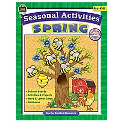 Teacher Created Resources Seasonal Activities Spring Gr Prek