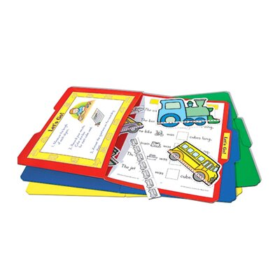 Teacher Created Resources File Folders Stor-it, Green, 3-Pack