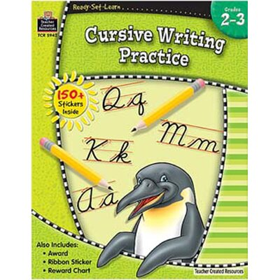Teacher Created Resources Ready Set Learn Cursive Writing