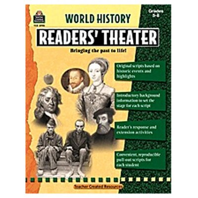Teacher Created Resources World History Readers Theater Gr5-8